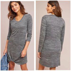 Anthropologie Dolan Petite XS Sloane Dress Gray